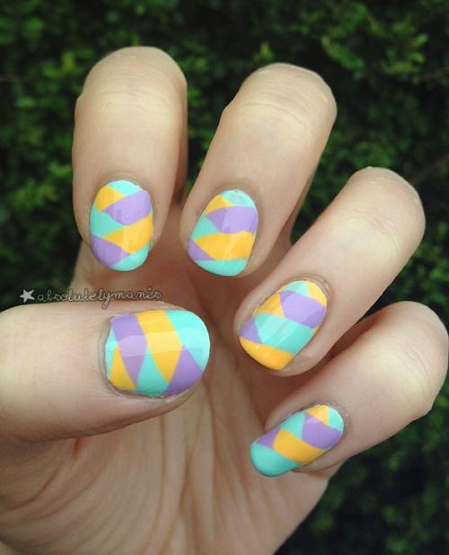 Easy Easter Nail Art: 17 Best Images About Simple, Easy & Cool Easter Nail Art