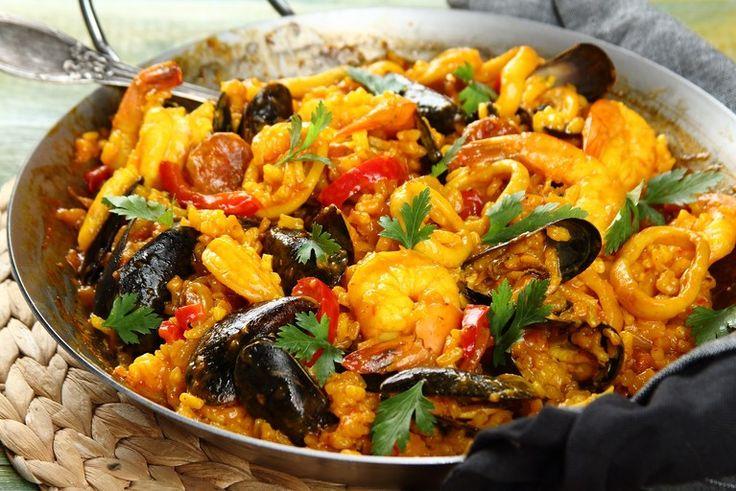 Przepis na Paella z owocami morza