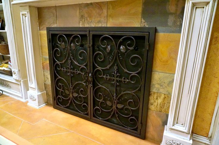 1000 Ideas About Fireplace Doors On Pinterest Painting Fireplace Fireplace Cover And