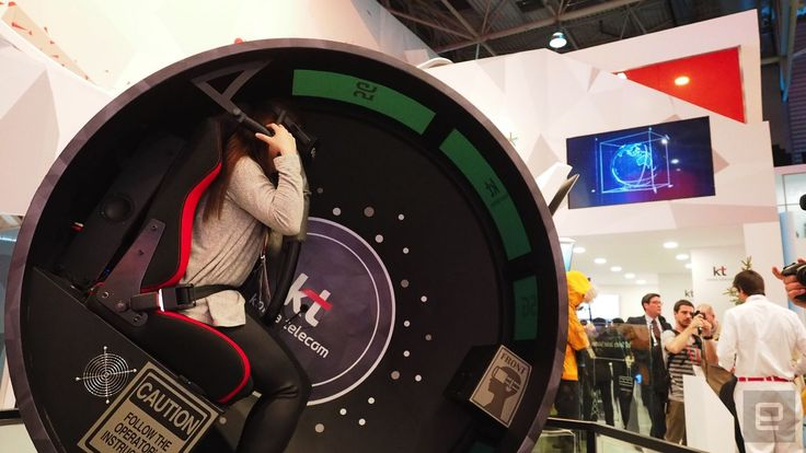 K-pop and VR at MWC is sensory overload