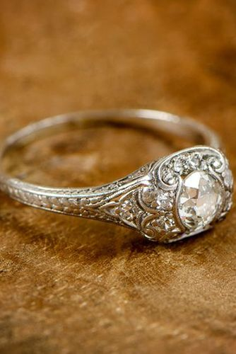 Best 25 Antique engagement rings ideas on Pinterest
