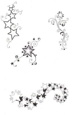 sketches of stars and hearts   Star designs by ~crazyeyedbuffalo on deviantART by london_salas