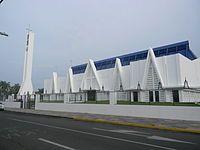 Liberia City - Cathedral. Distrito y Capital de la Provincia de Guanacaste de Costa Rica