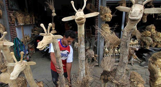 Hebat, Kerajinan Limbah Bambu Berhasil Tembus Pasar Dunia