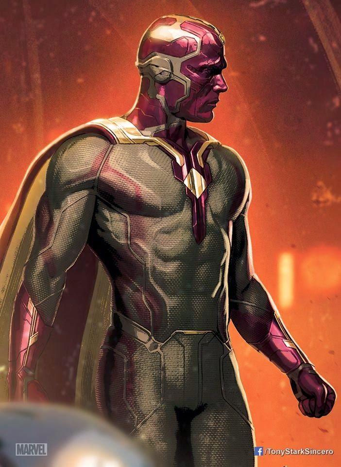 Ultron e Visão aparecem em novas artes promocionais de Vingadores: Era de Ultron - Grande Herói | Cinema, Séries, Quadrinhos e muito mais