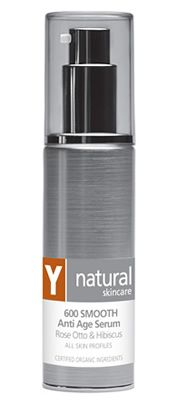 Y Natural Organic Skincare - 600 SMOOTH Anti Age Serum - 45ml