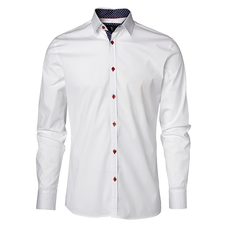 Vita skjortan