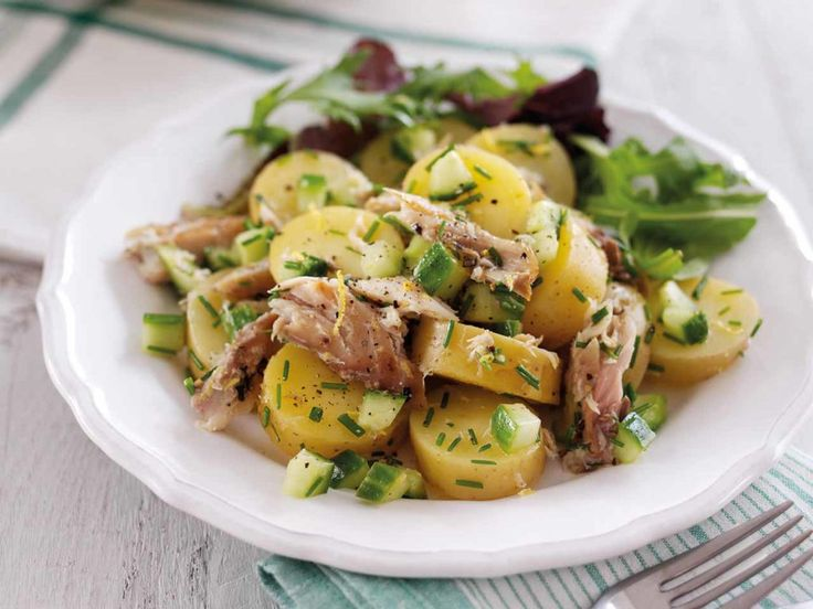 Mackerel and Potato Dressed Salad - Go to try this!!