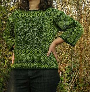 Park High Pullover on Ravelry
