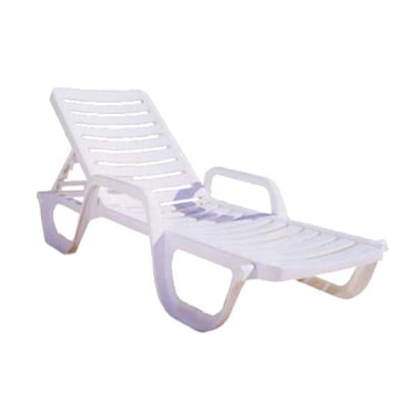 Top 30  Adams Mfg Corp White Resin Stackable Patio Chaise Lounge Chair
