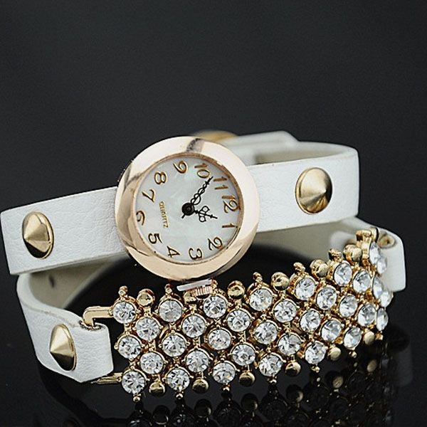 Watch that guarantees durable and accurate time, shaped a accessories which is fashionable and charming in style which makes it more attractive and unique.