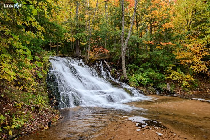 1000 images about michigan waterfalls on pinterest for Morgan falls