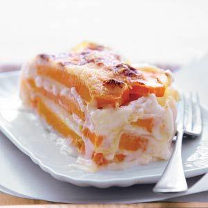 Recept - Lasagne van pompoen - Allerhande