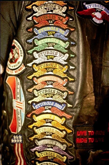 Sturgis patches
