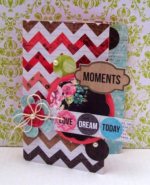 "Best of Betsy's: Kaleidoscope Cards for Kaisercraft""s Magazine"