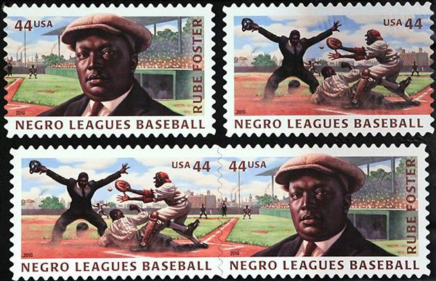 United States Postal Service Strikes Gold - Negro Leagues Baseball. Rube Foster
