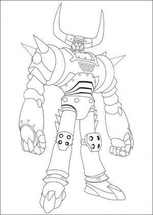 Astro Boy coloring page 21