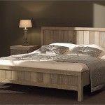 Slaapkamers - Wood - Strakke slaapkamer met landelijke toets. Uitgevoerd in massieve verweerde eik. Kan in alle afmetingen, ook maatwerk mog...