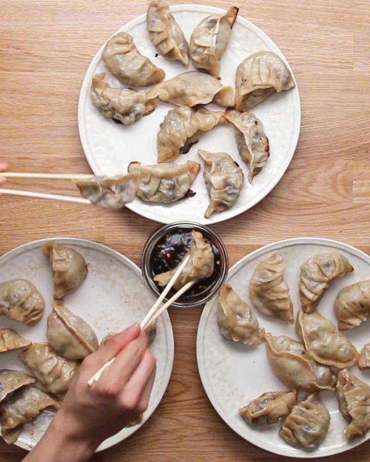 Mit diesen hausgemachten, selbst befüllbaren Dumplings machst du jeden glücklich
