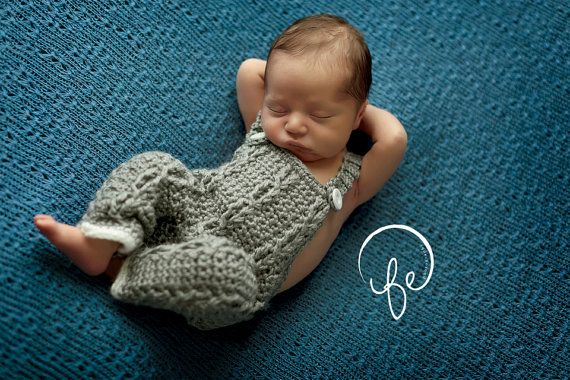 Crochet Baby Overalls Baby Boy Outfit Baby By