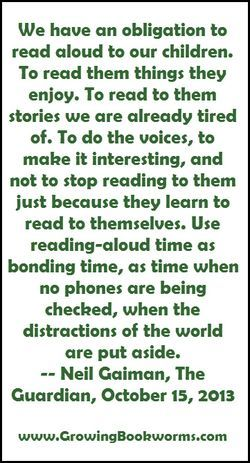 Neil Gaiman: Why our future depends on libraries, reading and daydreaming.Reading to your children is so imortant!