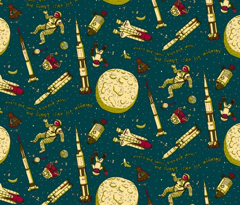 17 best images about space fabric on pinterest galaxy for Red space fabric