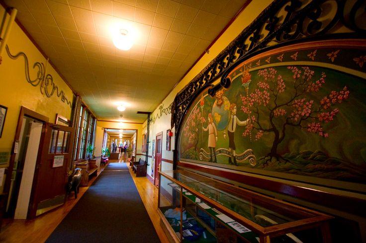 McMenamins - Kennedy School - great artwork in the hallways.