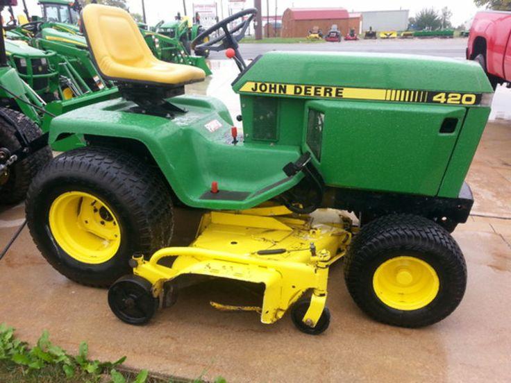 1991 John Deere 420 | Tractors | John deere garden ...