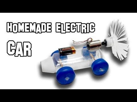 How to Make Homemade Electric Car ~ Electrical Engineering World