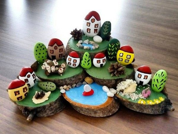 15 Lovely DIY Ideas To Spice Up Garden with Pebbles Art - The ART in LIFE