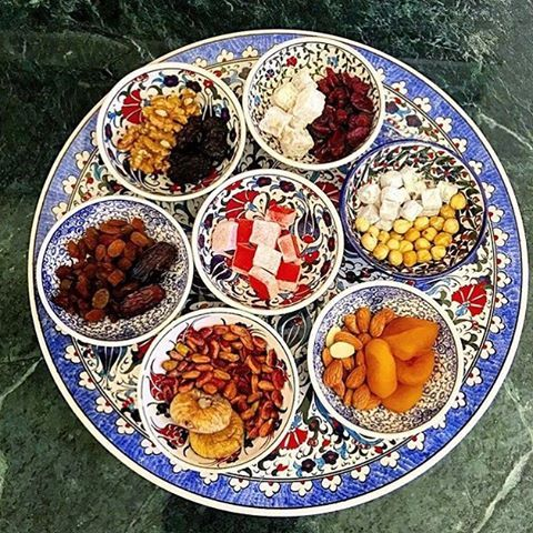 Turkish Spices, Turkish Breakfast, Turkish Decor, Golden Horn, Bowls U0026  Plates, Dried Fruit, Turkish Delight, Ceramic Bowls, How To Use