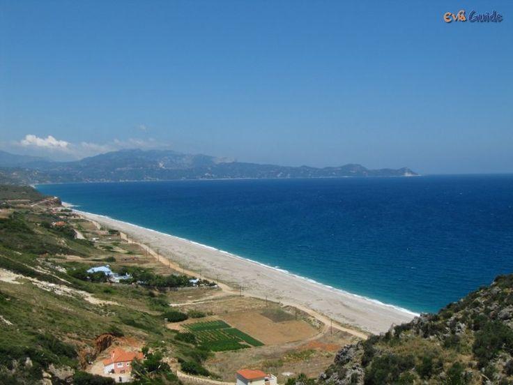Agiou Merkouriou Beach in the South of Evia