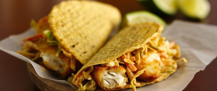 Old El Paso® products and easy fish fillets make quick work out of Mexican fare.