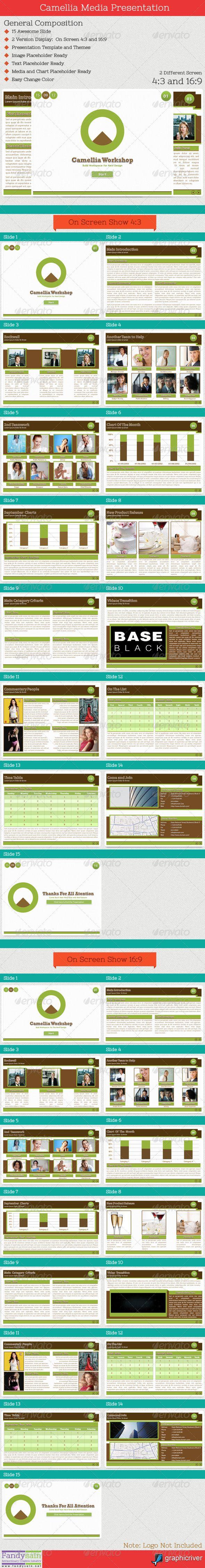 Camellia Media Presentation Templates