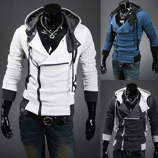 This is all kinds of sexy. Holy cows. Men's Assassin's Creed Style Hoody | Deal Man