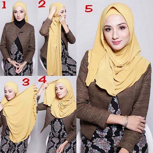 ... shawl sugarscarf hijab fashion trend tutorial forward shawl sugarscarf