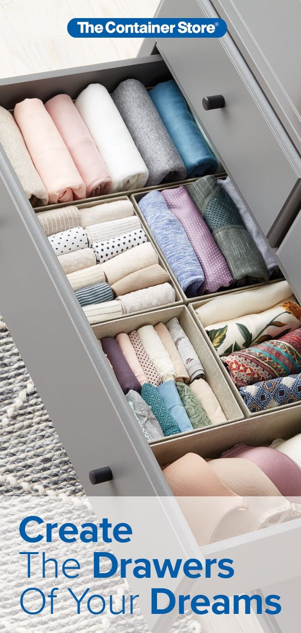 Drawer Organization Essentials Closet Organizer With Drawers Clothes Drawer Organization Wardrobe Organisation