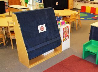 Visually Closing Centers in a Special Education Preschool Classroom