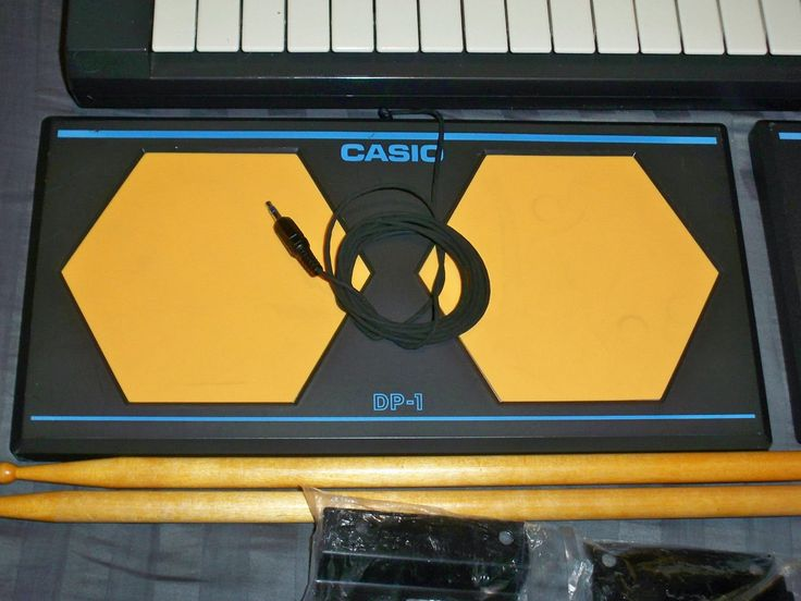 MATRIXSYNTH: Vintage Casio CASIOTONE MT-205 Synthesizer Keyboard with Drum Pads