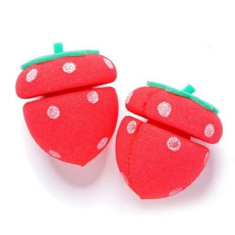 These are the cutest hair rollers ever, and I can attest that they double as great cat toys. No heat required – just wrap your hair around them, wait for it to air dry, and enjoy instant beach waves. Etude House Strawberry Sponge Hair Rollers, $6: Sokoglam