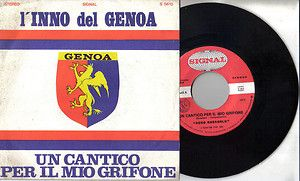 Inno Genoa cricket & football club Un cantico per il mio Grifone