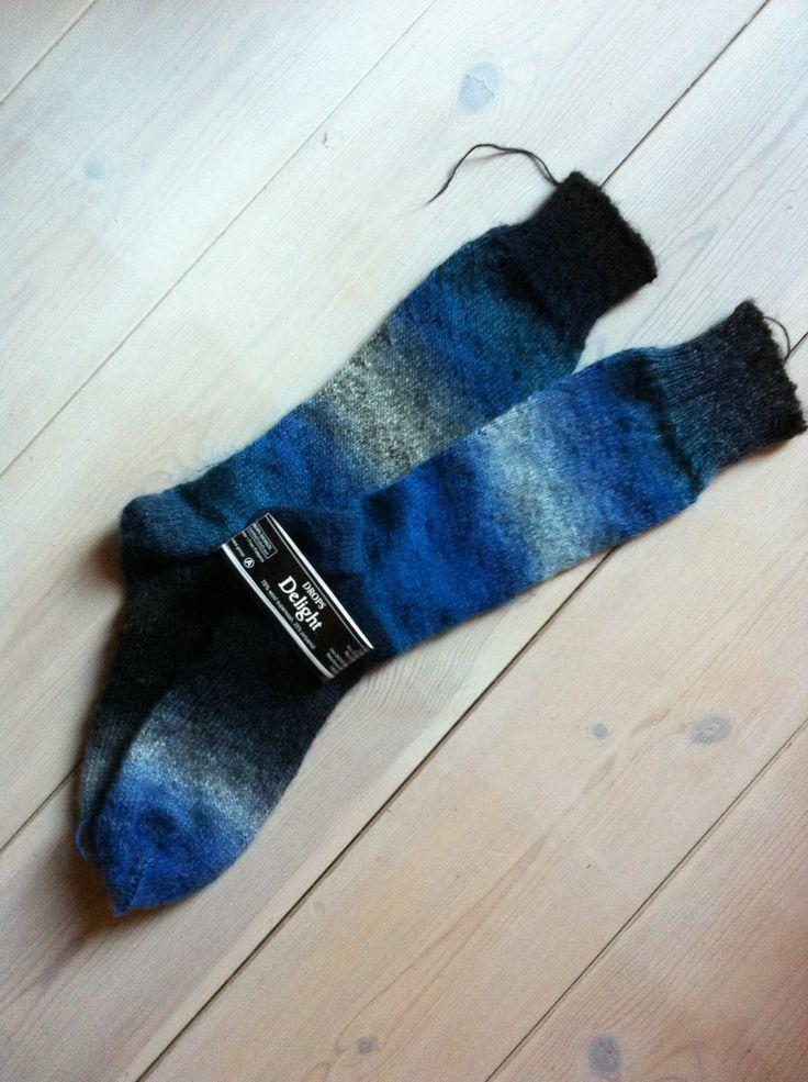 Blå sockor Dropd delight