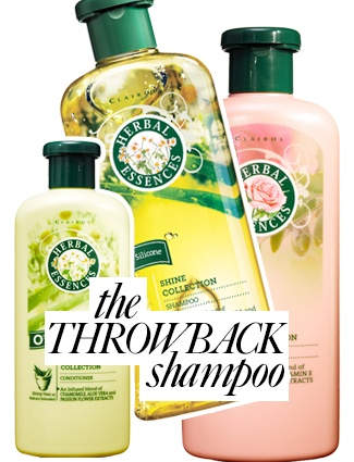 Throwback Shampoo!  The newly relaunched Herbal Essences Smooth and Shine shampoos and conditioners ($4.29 each, us.herbalessences.com) not only look like the ones you lathered up with in the '90s, they smell like them, too. Take a whiff and instantly be transported back to a time before Facebook, iPhones and Keeping Up With The Kardashians (memories!).