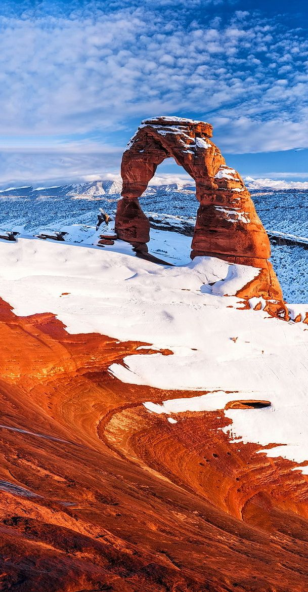 Arches National Park Utah.I would love to go see this place one day.Please check out my website thanks. www.photopix.co.nz