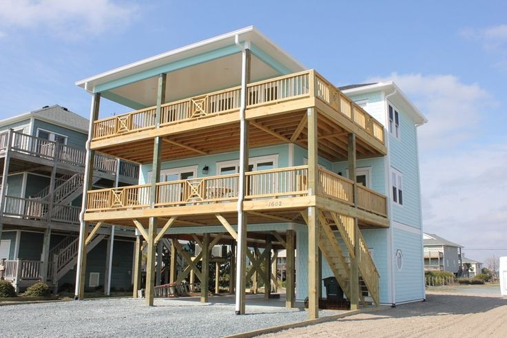 Topsail Beach House Rental: Gorgeous Ocean View Home - Great Topsail Beach Location! | HomeAway