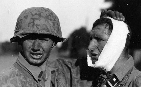 Faces of war: Leibstandarte soldiers during Operation Barbarossa in 1941. Pin by Paolo Marzioli
