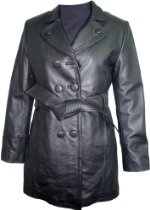 5006 PREMIUM Grade Real Genuine Black Soft Supple Light Lambskin Leather Classic Traditional Trench Coat Notched Lay Down Collar Double Breast Leather Covered Button Front Closure Slash Pocket Silky feel Pocket Lining, Lined, ZIP OUT FAKE FUR VELOUR LINER, Petite Regular Plus Size