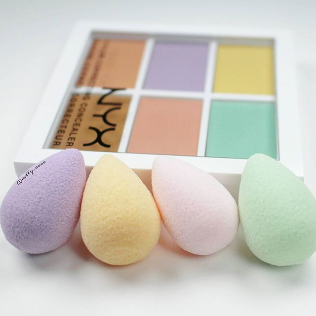 My kind of Easter eggs!  Happy Easter!!  #nyxcosmetics #beautyblender #micromini
