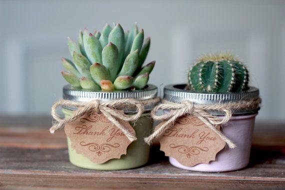 Bomboniere di matrimonio con piante grasse - Fotogallery Donnaclick