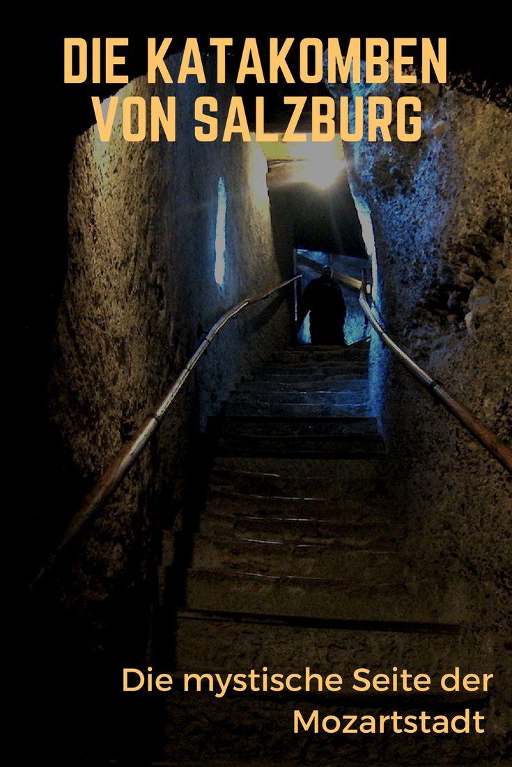 """Dunkle Legenden. Unerklärliche Katakomben. Und Nächte, in denen die """"Wilde Jagd"""" stattfindet - auch das ist Salzburg."""
